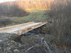 Fall bridge work - McKenney bridge