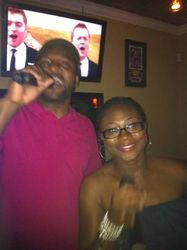 Sleepy and Kyla were the surprise hit of the night at Legendary Friday Night Karaoke!