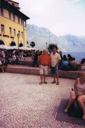 With Salvatore, Riva del Garda, Italy, 2004