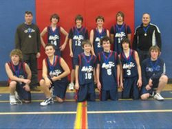 Magic Major Bantam win Silver in 2008