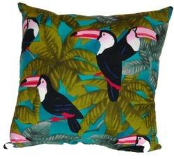 Toucan  bird pillow on consignment