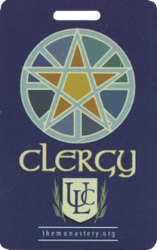 Pagan Clergy Badge