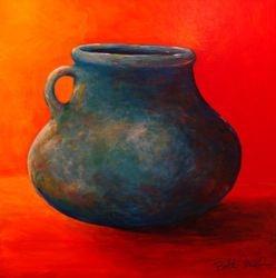 Fat Blue Pot