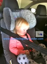 2 years old Safe-n-Sound Meridian AHR Rear-Facing