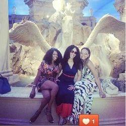 Jaeda James, Jam Poet & Demetria McKinney In Vegas!