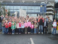 Underage Teams Vist to Croke Park