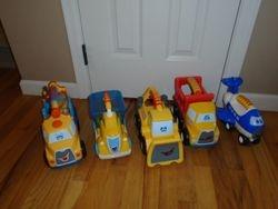 Little Tikes Handle Hauler Trucks- 5 - $35