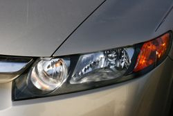 Passenger Side headlight