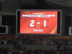 Holland vs Slovakia