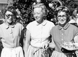 Flickorna Lundgren i Skaret 1972