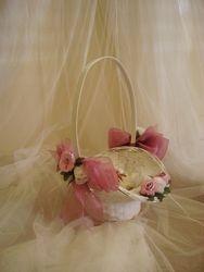 Petal Carry Basket  #F311