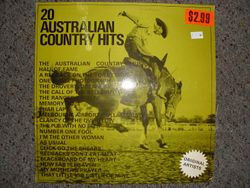 20 Australian Country Hits for $2.99