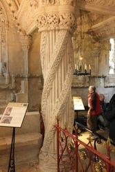Rosslyn Chapel - apprentice's column