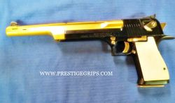 DESERT EAGLE Smooth pearl white mounted
