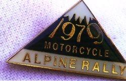 1979 Alpine Rally badge @ Perkins Flat