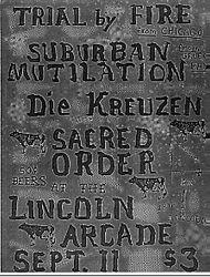 1982-09-11 Lincoln Arcade, Milwaukee, WI