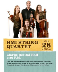 Henry Mancini Institute String Quartet Recital