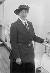 Olave Baden-Powell, World Chief Guide, on cruise
