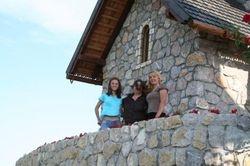 Monica,me and Slavica