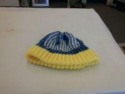 Warriors knit beanie