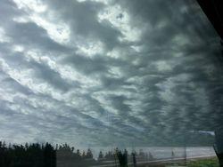 Scalloped skies at Gros Morne park