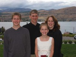 The family of David Wynne