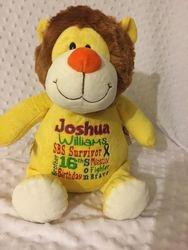 Jessi's gift to Joshua