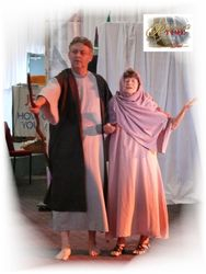 Anna and Simeon rejoice in the Promise of the soon coming Redeemer