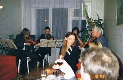At Home with Friends, Minsk, Belarus, 1995