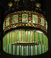 Tiffany, chandelier, Willard Memorial Chapel, Auburn, NY
