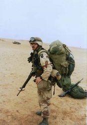 Gulf War airborne Troop: