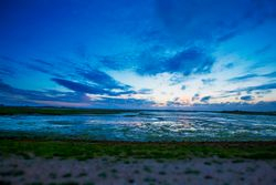 Dusk at Pagham Harbour Nature Reserve