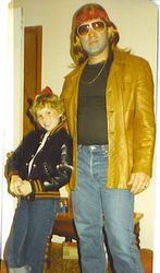 Piper, Age 9, Halloween w Daddy