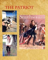 "Boot covers for Benjamin Martin (Mel Gibson), ""The Patriot"""