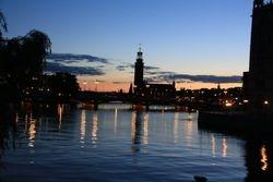 Old Town at Night, Stockholm Sweden