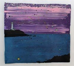 """Calm Down, Look At The Sea At Night"""
