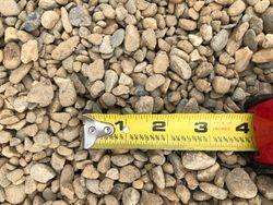 Brown River Rock, Pea Gravel Dry