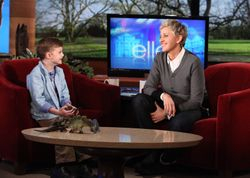 Riley and Ellen DeGeneres