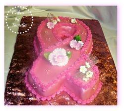 Cancer Awareness  cake