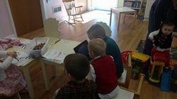 Studious boys in the nursery Dec02016