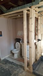 New Basement's Bath