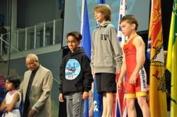 Isa Khan - 3rd place at Canada East 2015