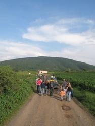 On the road to La Pila