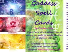 Goddess Spell Cards