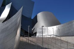 Disney Concert Hall Entrance