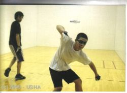 2006. Tyree( white shirt ) playing four wall