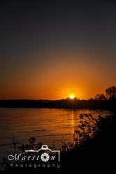 Sunset on the Landing