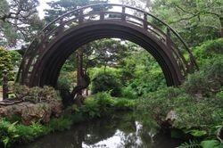 Bridge, Japanese Tea Garden
