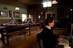 Linton Library interior