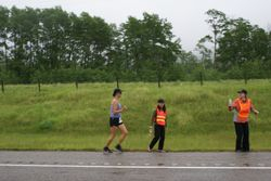 Support at leg 1